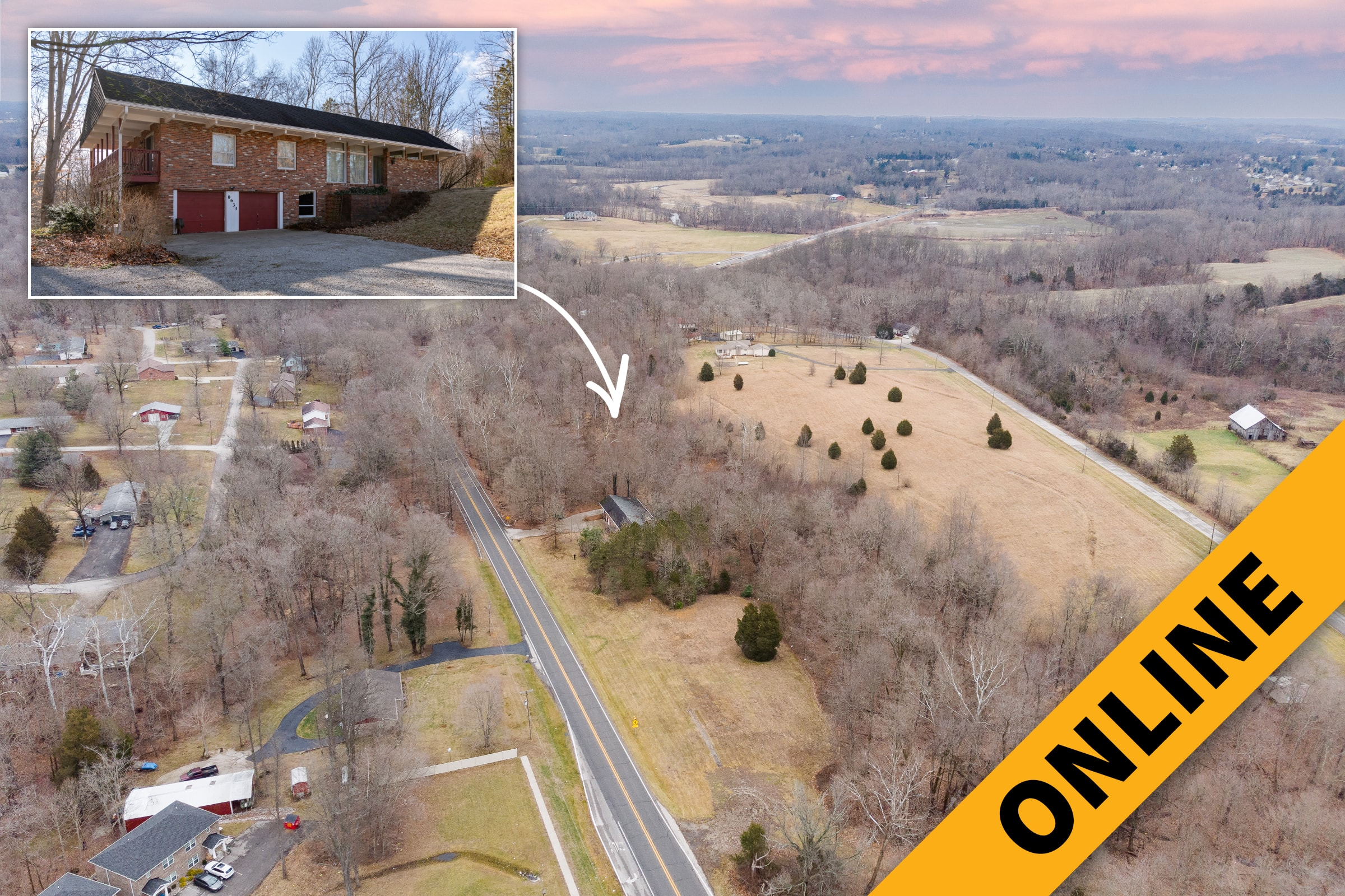 7.4 Acre Mid-Century Ranch Online Auction