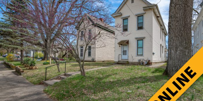 Uptown Income Producing Duplex Online Auction