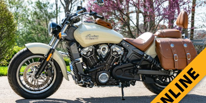 Indian Scout Motorcycle Online Auction