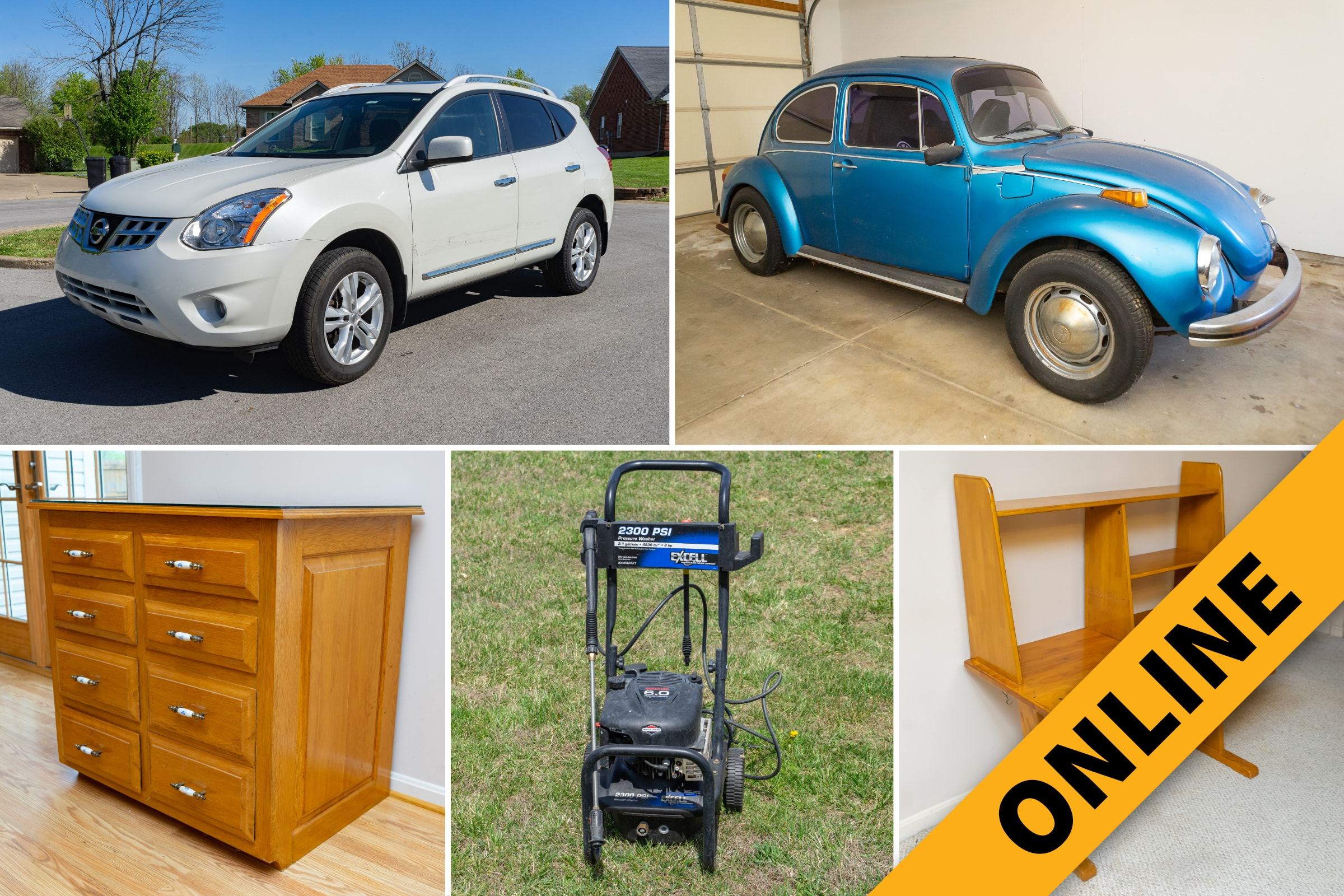 Martin Estate Vehicles & Contents Online Auction
