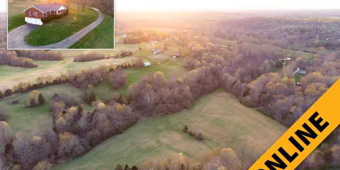 Floyd County 28.89 Acre Home & Barn Online Auction