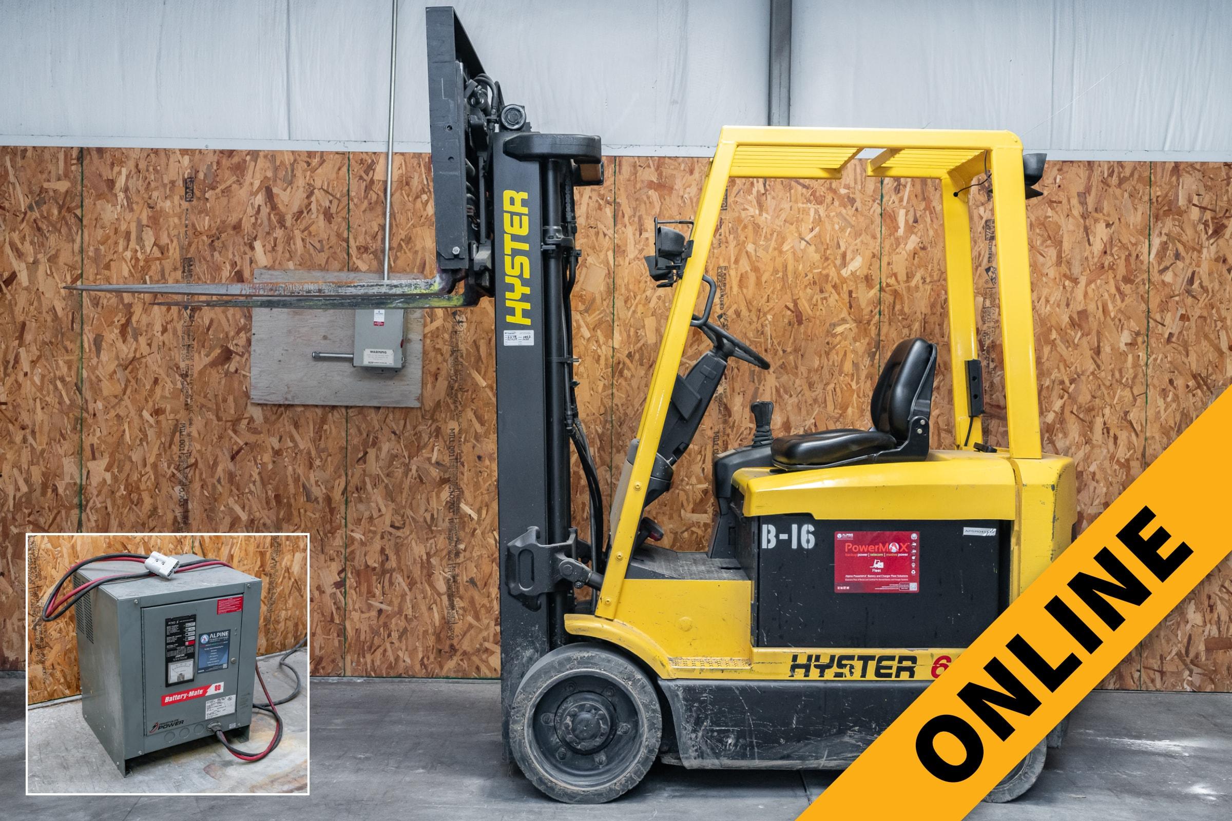 Hyster Lift Truck Online Auction