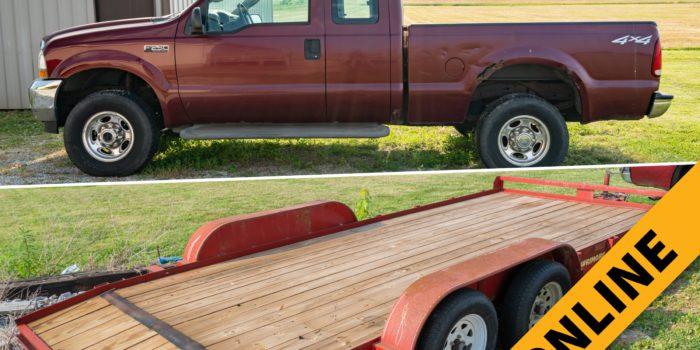 Babcock Truck & Car Trailer Online Auction