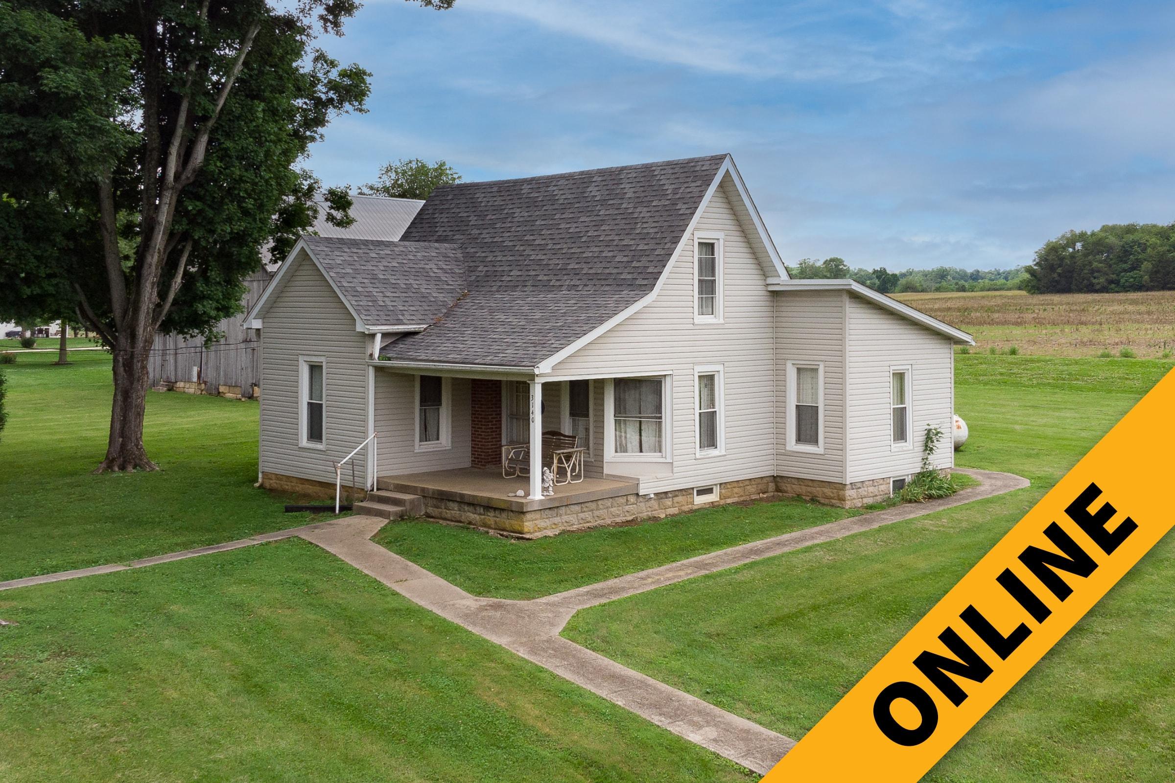 Harrison County Farmhouse Online Auction